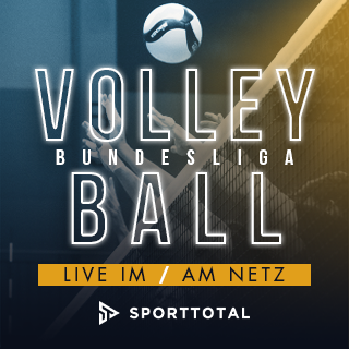 Volleyball Bundesliga live auf Sporttotal TV