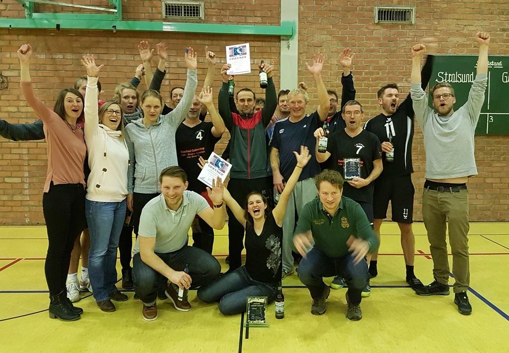 Beide Stadtmeistertitel 2018 gehen an den 1.VC Stralsund!